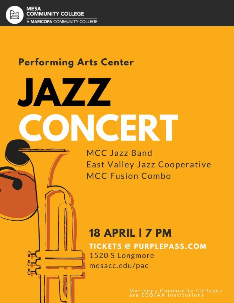 Jazz Concert Flyer 4/18
