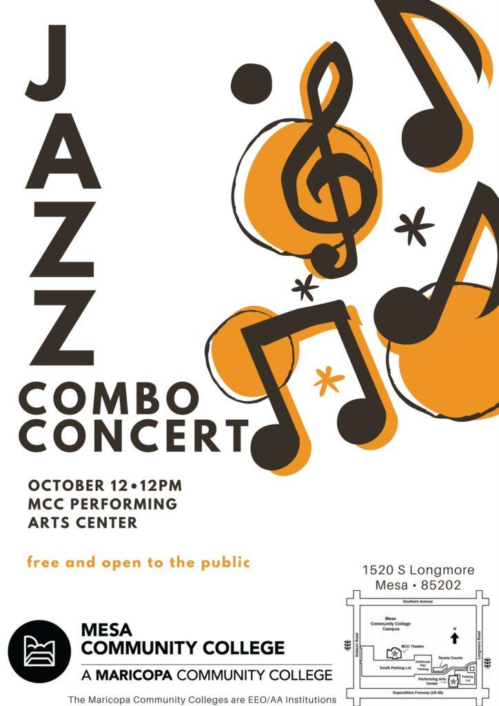 combo concert flyer