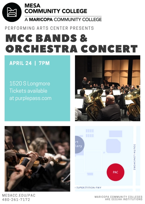 4/24 Bands and Orchestra Concert