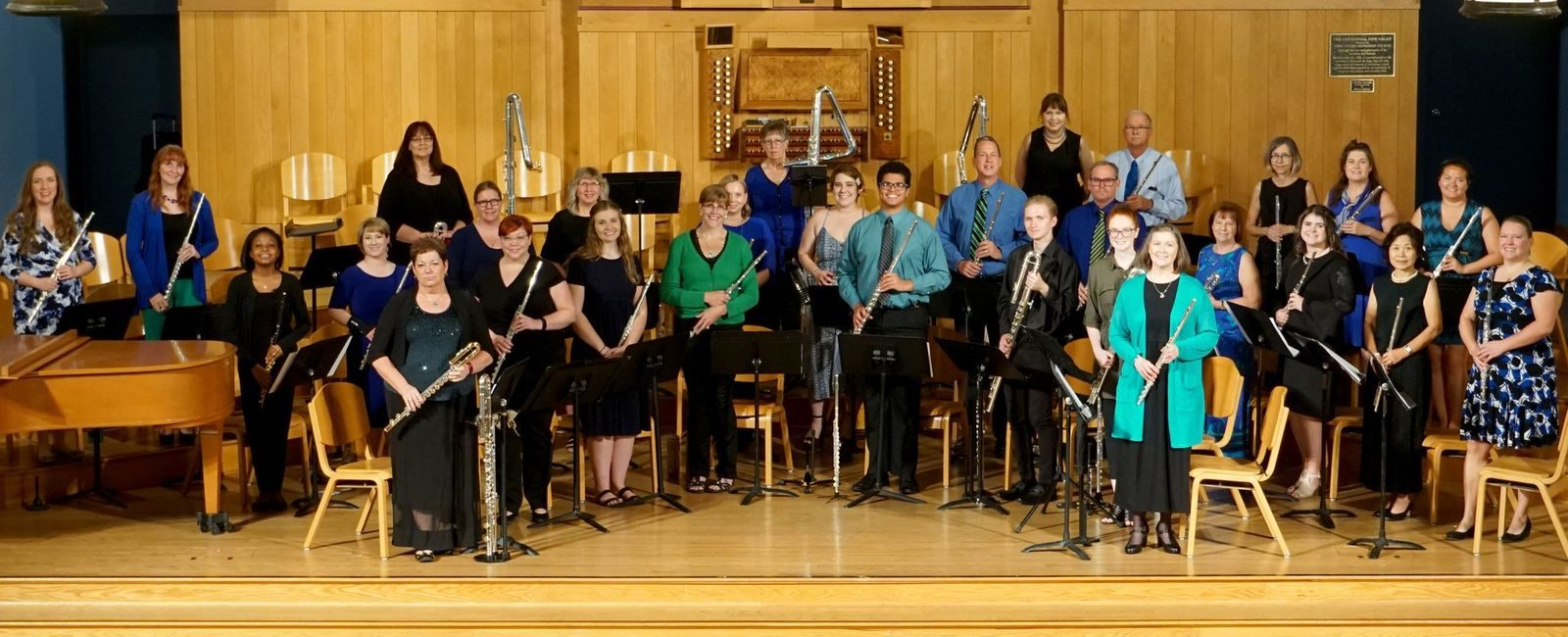 def community flute choir program image