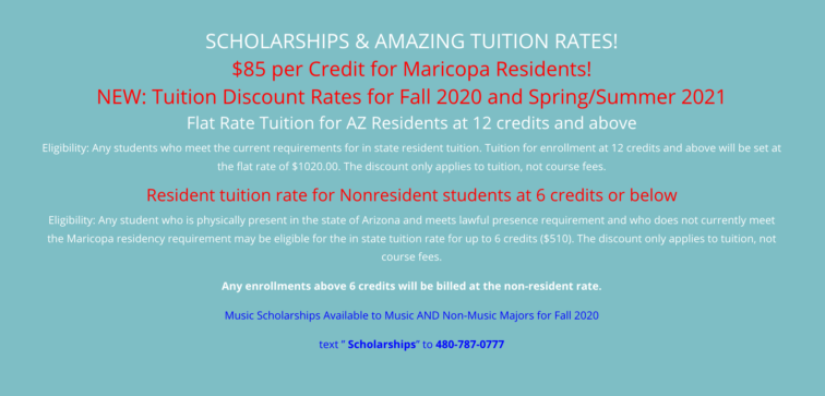 Discounted Tuition