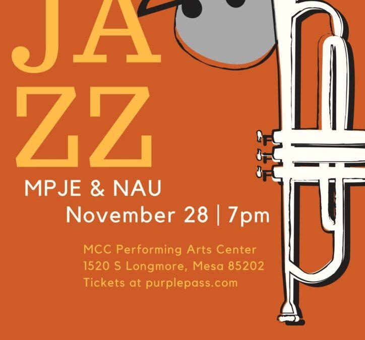 11/28 MPJE & NAU Jazz Concert