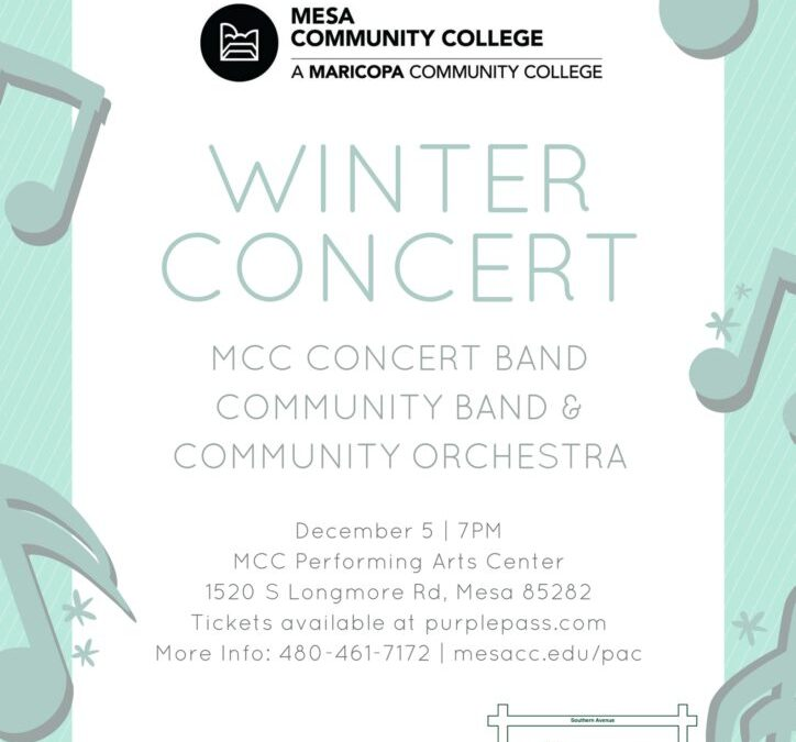 12/5 Bands and Orchestra Concert